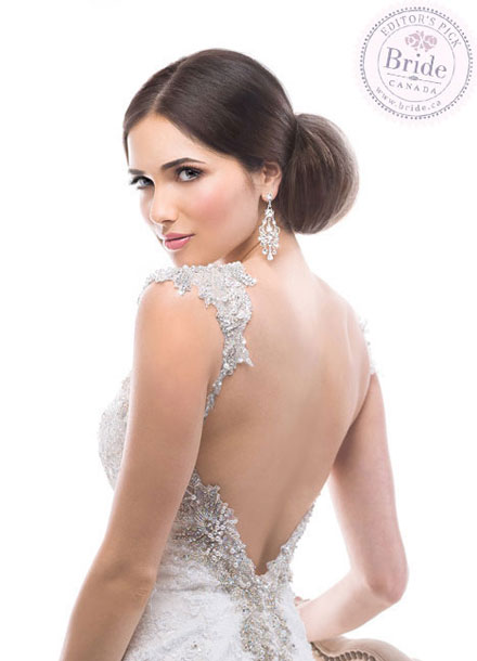 Maggie Sottero : Brandy, 2014 Fall wedding dress : Back view