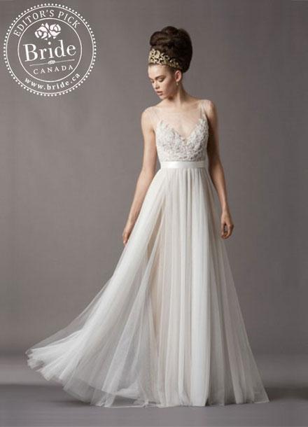 Watters : Jacinda : Fabulous Spring 2014 wedding gown