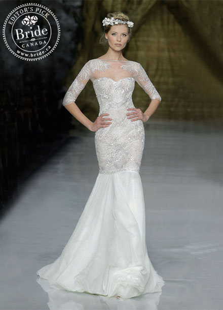 Pronovias : Yamse, Fall 2014 wedding gown