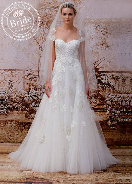 Monique Lhuillier: Fall 2014 bridal gowns