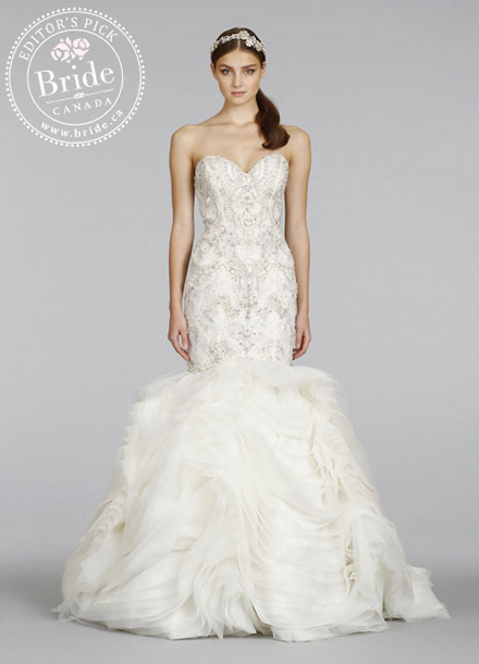 Lazaro, Style #3400 Fall 2014 wedding gown
