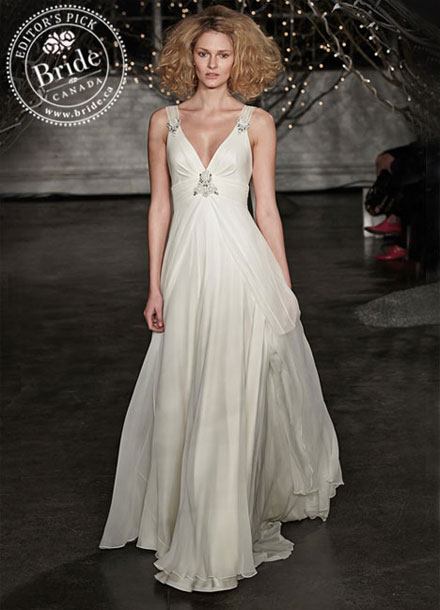 Jenny Pakham Fall Ellie 2014 wedding dress
