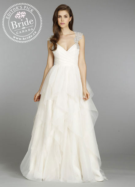 Hayley Paige : Carrie Spring 2014 wedding dress