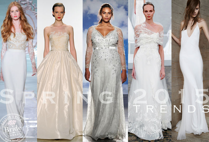 straight from the runway spring 2015 bridal fashion trends