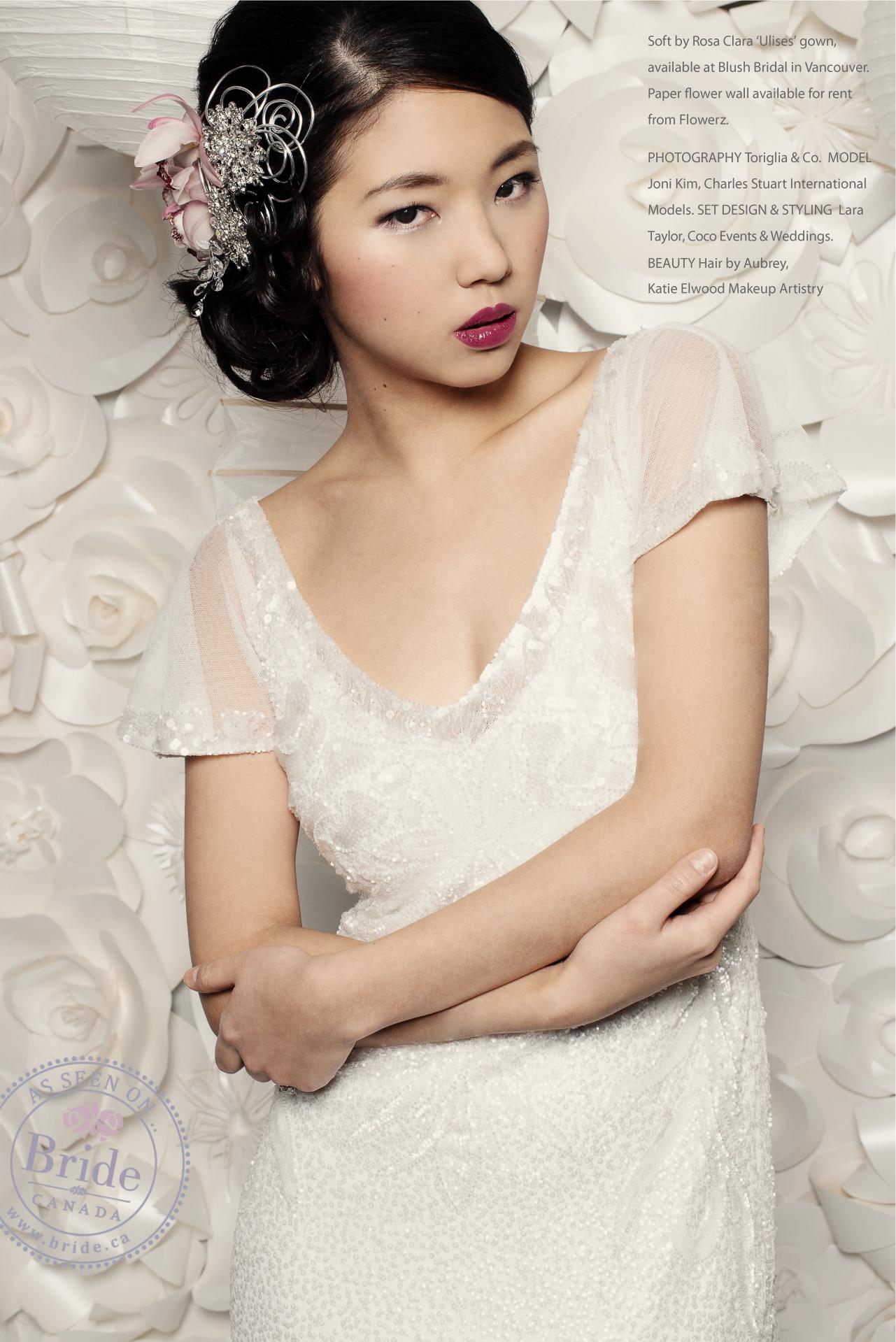 Wedding Dress Rental Toronto 71 Ideal asian model wearing rosa