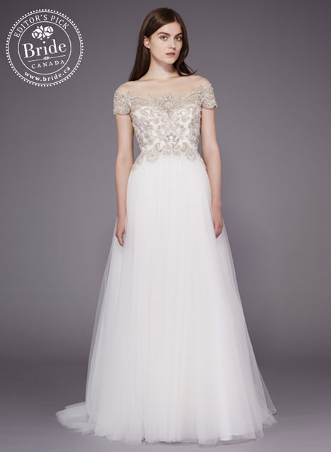 Wedding Dress.ca 60 Cute model wearing Badgley Mischka
