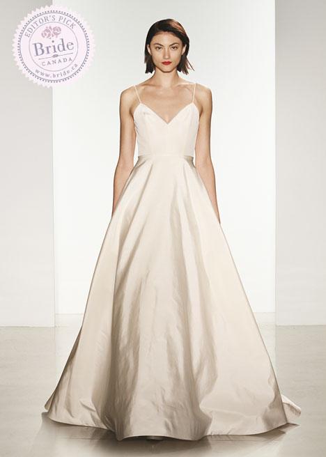 Amsale Wedding Gown