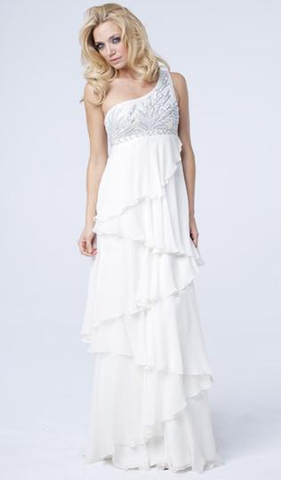 Фото подвенечного платья в стиле ампир.