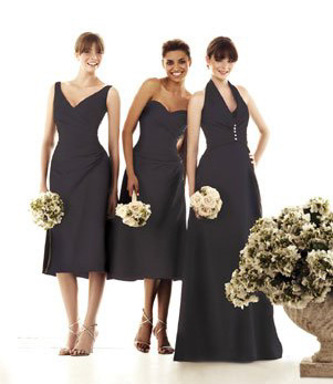 Impression Bridal bridesmaids dresses #1590, #1591 & #1594