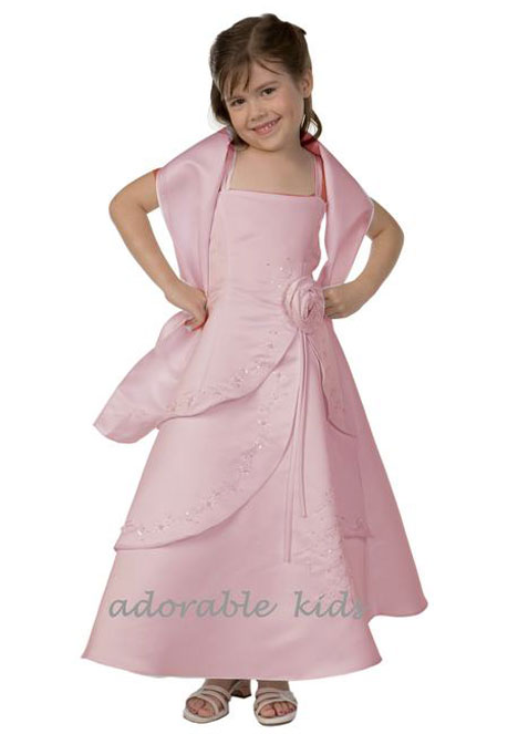 Adorable Kids' Pink Melissa dress design