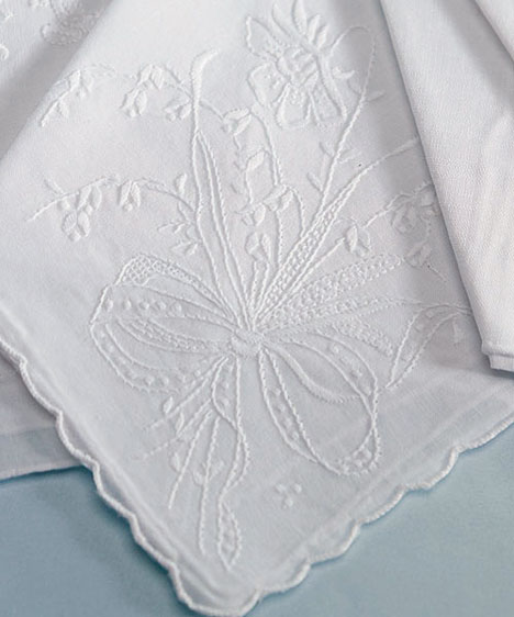 Flowery handkerchief design
