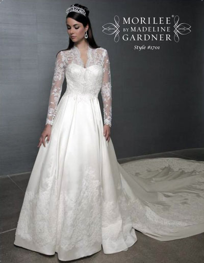 Mori-Lee, Kate Middleton wedding dress