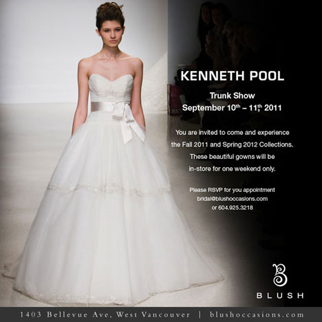Kenneth pool fashion show vancouver sept 10th for Pool fashion show