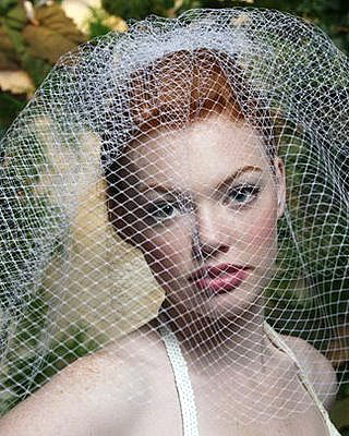 birdcage veil hairstyles. What is a irdcage veil?