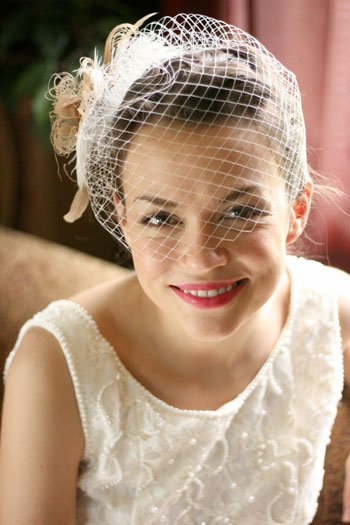 Bridal Fashion Accessories: Birdcage from Unveiled Bridal Designs