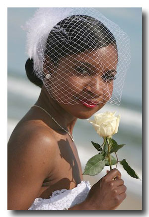 Bridal Fashion Accessories: Birdcage Veil from Unveiled Bridal Designs