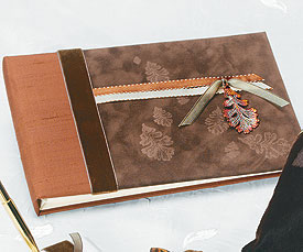 Wedding Guest book: fall theme