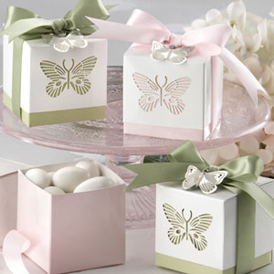 Butterflies Laser-Cut Favor Box