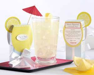 Lemonade mix, as a party favor!