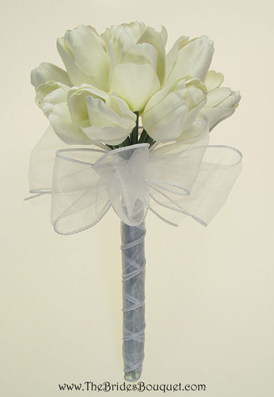 Wedding Flowers Season on Blue Tulips Wedding Bouquet Images