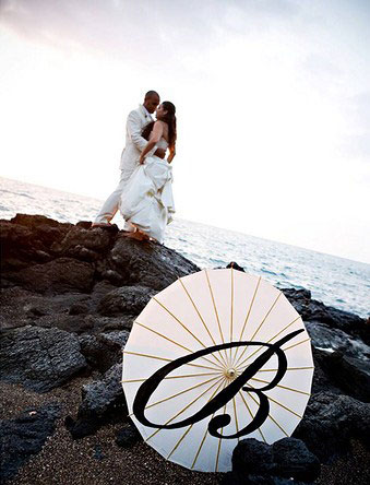 Wedding parasol for sale by owner