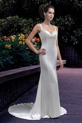 Very simple wedding dress by Venus Bridals (ACS Formals in N.B.)