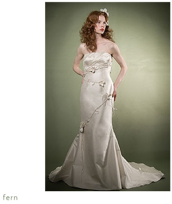 Adele Wechsler Eco-Chic Bridal Gown: Fern