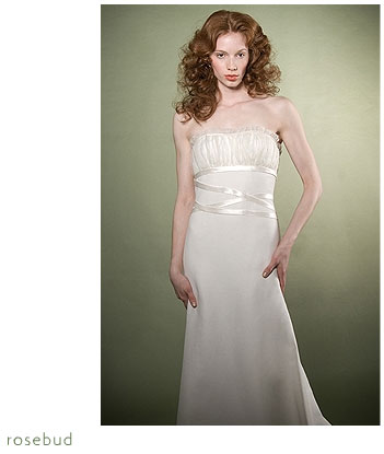 Adele Wechsler Eco-Chic Bridal Gown: Rosebud