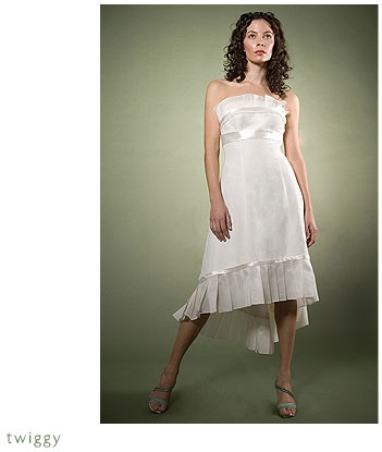 Adele Wechsler Eco-Chic Bridal Gown: Twiggy