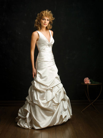 Silver Wedding Gowns on Wedding Gowns 2010  Allure Bridals