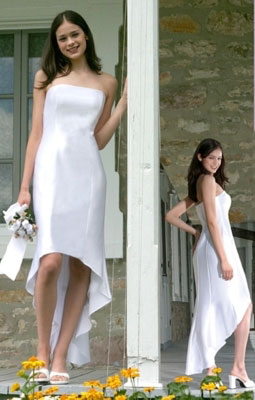 Wedding Dress Short on Short White Wedding Dresses   Excellent Prom Dresses