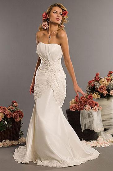 Eden Bridals 2010 wedding gown style #2328