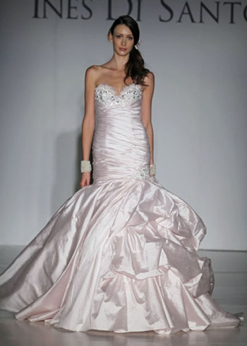 2011 Ines di Santo, Cherise, Canadian bridal gown