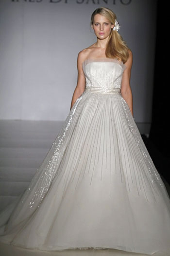 2011 ines di santo elodie canadian wedding gown