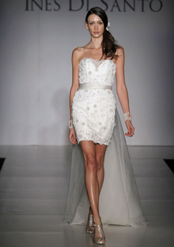 2011 Amelie bridal gown by Canadian designer Ines di Santo