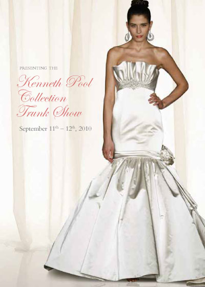 Kenneth Pool bridal show, Vancouver