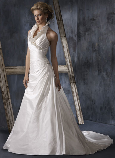 Wedding gowns maggie sottero 2010 collection for High collared wedding dress