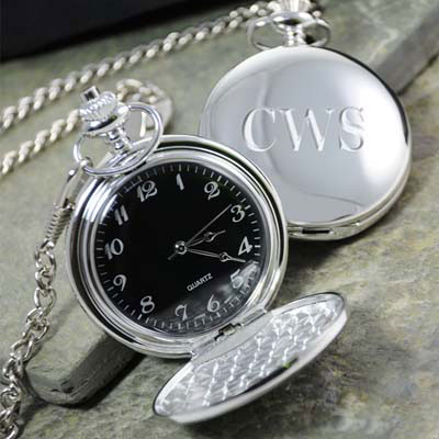Groomsmen gift idea: Pocket watch