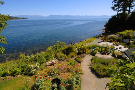 Vancouver Island, Sooke House | Panoramic View of the Pacific Ocean