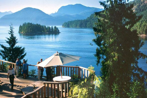 Of all the great BC Wedding Locations the West Coast Wilderness lodge ranks