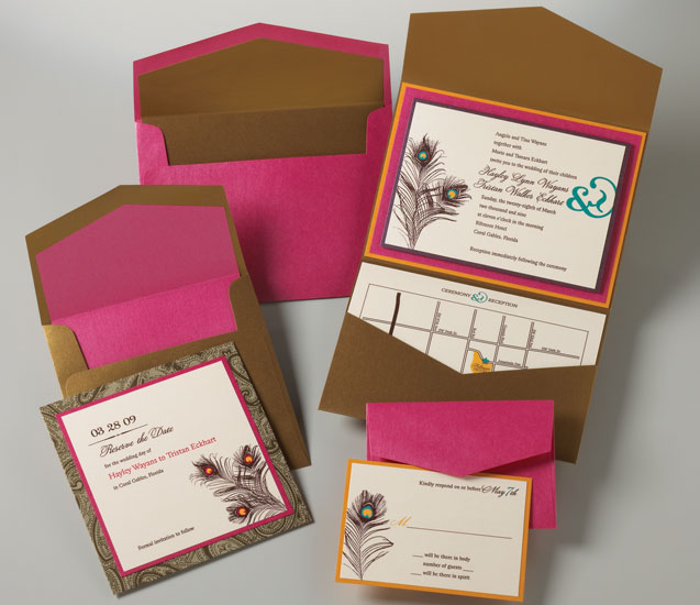 Featured: DIY Wedding Invitations By Timeless