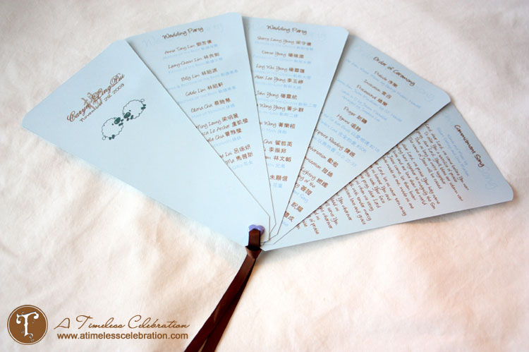 Bride featured diy wedding invitations by timeless celebration reception program fan shaped reception program fan shaped reception program solutioingenieria Image collections