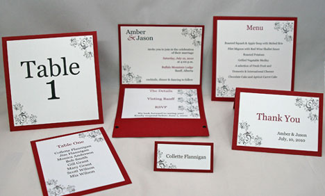 bride.ca | uncommon bride: more diy wedding invitation kits, Wedding invitations