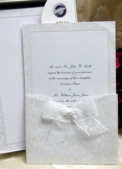 Diy invitations lace do it yourself wedding invitation dl elegant