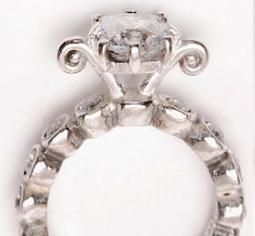 Big Crush diamond engagement ring