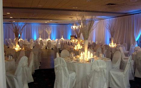 backdrops for wedding receptions. wedding reception in Marine