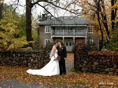 Montreal wedding location: Manoir Grant