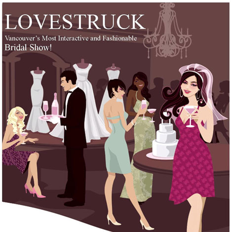 Bridal Show Ideas on Bride Ca   Lovestruck Bridal Show In Vancouver