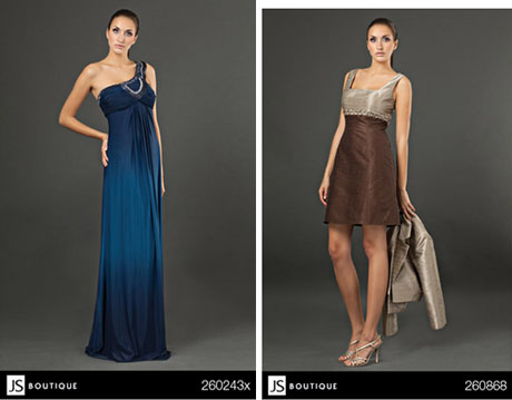 JS Boutique special occasion wear for the mother of the bride, from Bisou Bridal in Vancouver