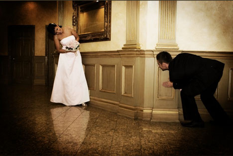 Life in Frames Photography, Mississauga: playful wedding candid